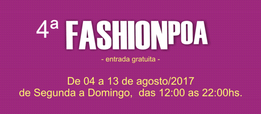 Evento Fashion POA